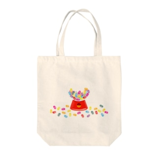 AURA_HYSTERICAのJELLY_BEANS Tote bags