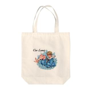 水晶少年 Tote bags