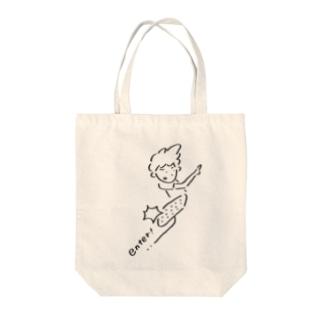 理系くんの法則 enter Tote bags