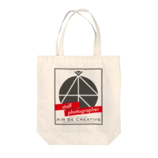 ABC「staff photographer」ロゴ Tote bags