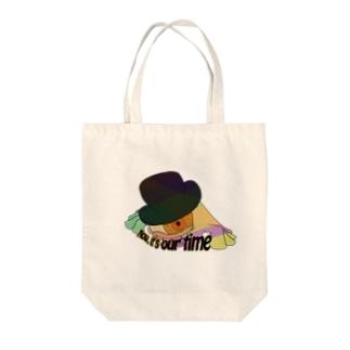 おめめ Tote bags