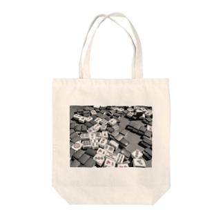 シリーズ 雀牌 Tote bags