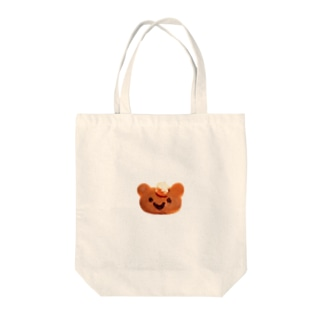 Kuma Pancake♪(くまちゃんパンケーキ♪) Tote bags