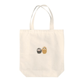 フクロウ(ペア) Tote bags