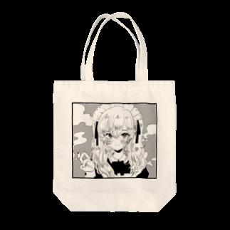 村崎ぽめの喫煙メイド Tote bags