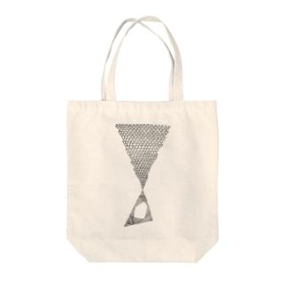 大噴火 Tote bags