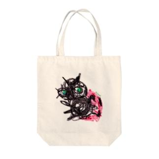 Bugs series -ladybug- Tote bags