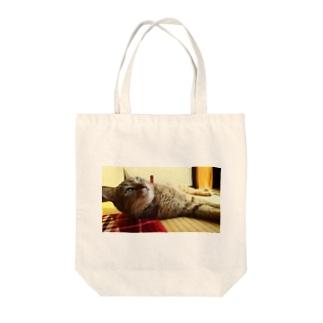 きっこちゃん Tote bags