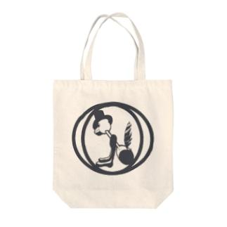 RSCスタジオSHOPの水飲み鳥のロゴマーク Tote bags