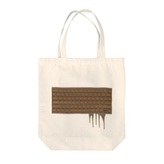chocolate keyboard Tote bags