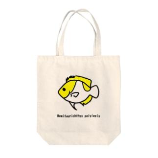 カスミチョウチョウウオ Tote bags