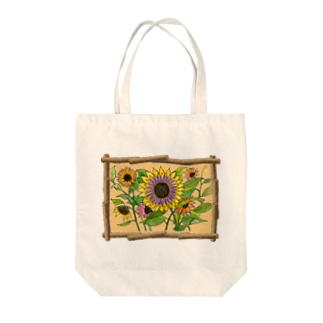 Sunflower2 -Language of flowers- Tote bags