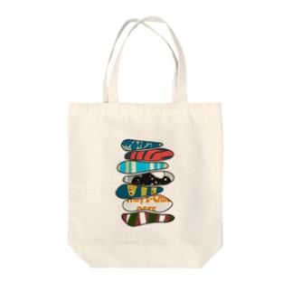ワチャワチャ Tote bags