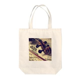 40周年記念グッズヴァイオリンヴァージョン Tote bags