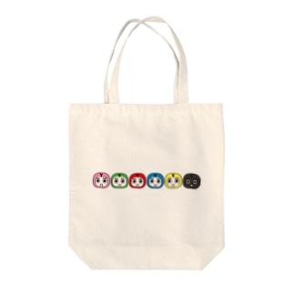 シンシュウロボ Tote bags