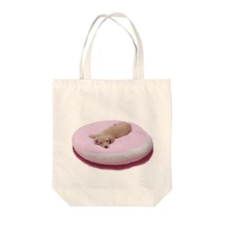 ちくわ Tote bags
