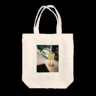 かるびんのレモネード Tote bags