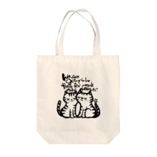 ずっと一緒♡ Tote bags