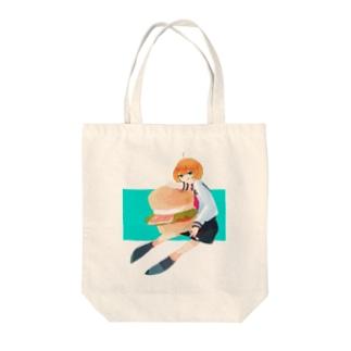 イングリッシュマフィン Tote bags