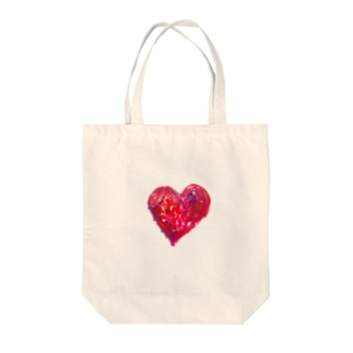 MaNd.のHEART Tote bags
