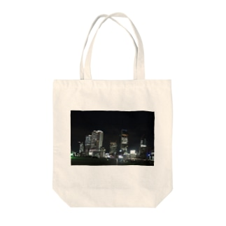 Miracke Happy Bareの名古屋の夜景 Tote bags