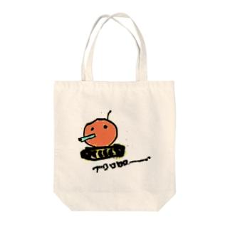 ブロロダコ Tote bags