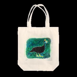 mayunoasakawaのホロホロ鳥 Tote bags