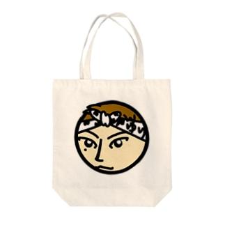 パ紋No.3139 ゆり Tote bags
