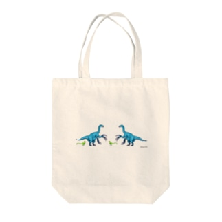 テリジノサウルス Tote bags