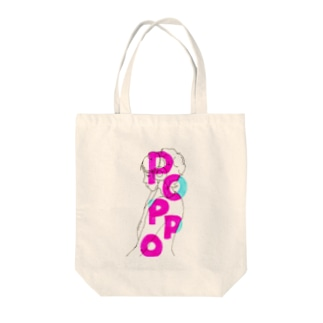 POPPO Tote bags