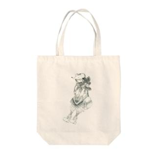 はりねずみちゃん Tote bags