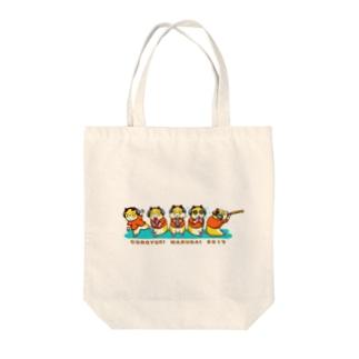 コロユキ5匹 Tote bags