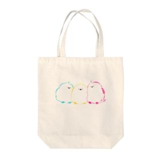 シマエナガ Tote bags