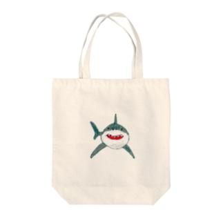 クレヨンさめ Tote bags