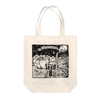 SEED8_神楽南蛮 Tote bags