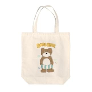 裸のクマ Tote bags