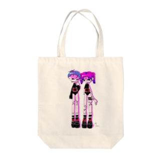 小悪魔系女子 Tote bags