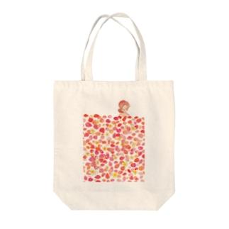 Flower bath Tote bags