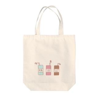ゆめかわいいMILK Tote bags