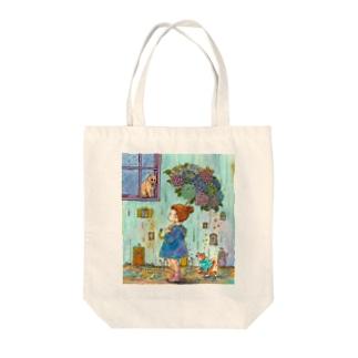 アジサイアンブレラ Tote Bag