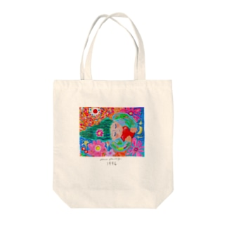 moca partyのなみだとえくぼ Tote bags
