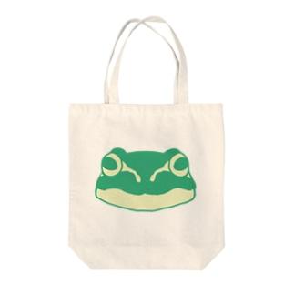 フロッグモーテルのシャチョー Tote bags