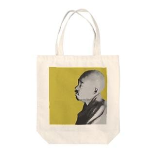 文豪・正岡子規くん Tote bags