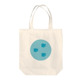 3out-firstの青海波と千鳥 Tote bags