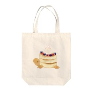 ベリーパンケーキリクガメ Tote bags