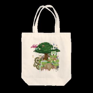 nuwtonのヌートンドット絵(カラー) Tote bags