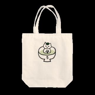 三重殺セカンドの店の日本茶カフェ チャコの店 Tote bags