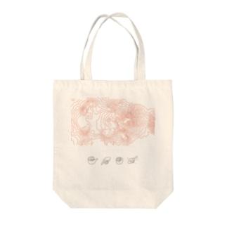 阿蘇山 Tote bags
