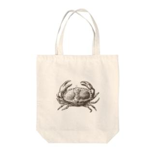 絶妙なカニ Tote bags