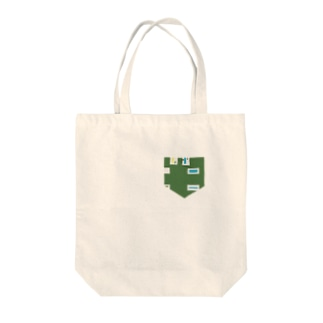 USBさしこみ口ポケット Tote bags